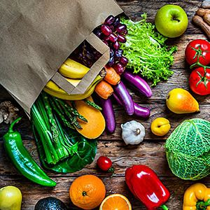 Vegetables, Fruits, Tubers & Ethic Foods